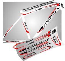 BIANCHI jab bike ADESIVI stickers aufkleber autocollant WELCOME INTERNAT. BUYER