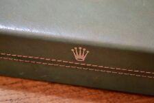 Vintage ROLEX cuir case pour CELLINI dual time 50515 50505 danaos années 1970 oem
