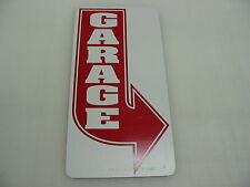 GARAGE RED ARROW Vintage Style Metal Art Deco Sign Car Shop Room Bar Man Cave