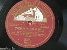 "78rpm 12"" JOAN HAMMOND ballade of the king of thule / the jewel song C 3674"