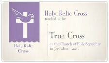 VIP special Holy Relic CROSS *  touched to the True Cross in Jerusalem, ISRAEL