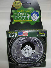 Quicksilver w/ Magnet Magnetic Crazy Aaron's Thinking Putty large 4 inch tin 3.2