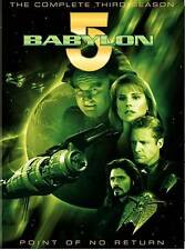 Babylon 5 - The Complete Third Season (DVD, 2009, 6-Disc Set,) Pre-owned