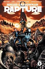 RAPTURE #2 COVER A Valiant Comics 2017 Ninja Shadowman