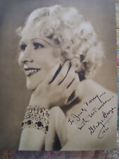 """VINTAGE: """"THE MALTESE FALCON  STAR."""" ACTRESS: GLADYS GEORGE  SIGNED PHOTO"""