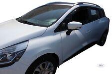 SET 4 DEFLETTORI ARIA  ANTITURBO per RENAULT CLIO IV GRANDTOUR 5 P 2013-AD OGGI