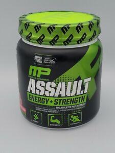 MusclePharm Assault Pre-Workout Powder Supplement  30 Servings Fruit Punch