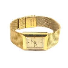Vintage TIMEX Women's Electric Gold Toned Adjustable Band Wristwatch Watch