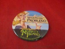 Tales of Monkey Island Guybrush Threepwood Promotional Button Pin Promo Pinback