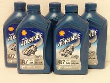 6,50€/l Shell Advance AX7 4T 10W-40 5 x 1 Ltr semi-syn 4stroke oil