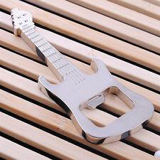Zinc Alloy Beer Guitar Bottle Opener Bottle Opener Keychain Keyring Key