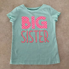 Carters Just One You 5t Girls Big Sister Tee Shirt (t-shirt Short Sleeves)