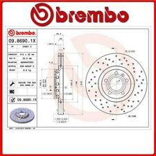 09.8690.1X#148 DISCO FRENO ANTERIORE SPORTIVO BREMBO XTRA VW PASSAT Variant (3B6