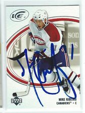 Mike Ribeiro Signed 2005/06 Upper Deck Ice Card #52