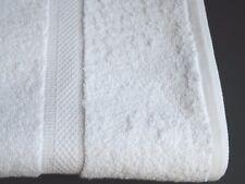 1 Dozen NEW Bath Towels 27 x 50 100% Cotton White Soft Luxury Hotel Resort Home
