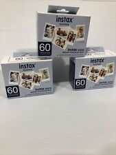 Fujifilm Instax Mini Film Value Pack - 60 Images Lot Of 3 For 180 Images