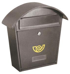 Cassetta postale posta buca porta lettere LIFTER chalet colore GHISA