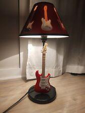 Fender Stratocaster Guitar Table Lamp