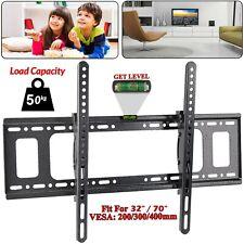 Slim TV Wall Bracket Mount Tilt For 32 40 42 50 55 60 70 Inch Plasma LCD LED 3D