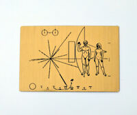 NASA Pioneer Plaque magnet - Made in Australia