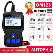 Autophix OM123 OBD2 Scanner Car Diagnostic Tool OBD2 Automotive Engine Scanner