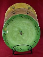 "Sango ""Tuscan Gardens"" Design by Sue Zipkin 11"" Dinner Plate, Various Colors"