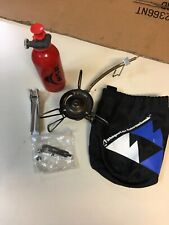 MSR whisperlite international-stove,pump,bottle,repair kit, bag,sigg tool