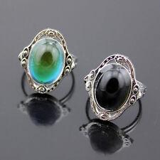 1PC Mágico Anillos Cambio De Color Depende De Temperatura Ajustable Anillo Ring