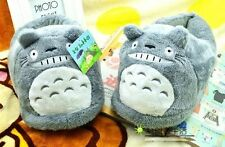 New Cute My Neighbor Totoro Soft Plush Stuffed Slipper One Pair Adult size Warm