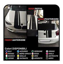 fasce adesive per auto strisce tetto cofano e posteriore adesivi sport racing
