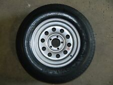 """15"""" 15in 205/75D15 205/75 6 Ply 5 on 4.5 Cargo Boat Utility Trailer Tire Texas"""