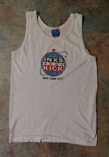 INXS Vintage Tour Tank Top NYC 1988 Plus Tour Drumstick