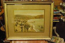 Photo colorisée d'ÉTRETAT (Normandie)de chez N.D. phot., dans son cadre.env.1910