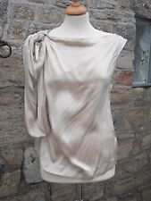 VIVIENNE WESTWOOD ANGLOMANIA CHAMPAGNE SILK DIONE TOP - UK SIZE 8, IT42