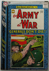 Our Army At War #147 (Oct 1964, DC), FN-VFN condition