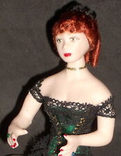 1:12 Doll White Woman Chicken Ranch Bordello Dollhouse Miniature #5851Thomas