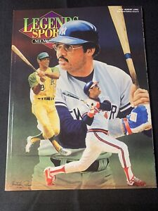 1992 Legends Sports Magazine Cover 8 Reggie Jackson w/ Uncut Cards Walter Payton