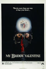 My bloody Valentine vintage movie poster
