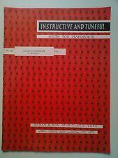INSTRUCTIVE AND TUNEFUL PIECES FOR PIANOFORTE: No.228 GAVOTTE-STEPHANIE CZIBULKA