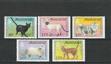 a120 - MONTSERRAT - SG864-868 MNH 1991 CATS