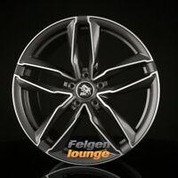 4 Alufelgen Ultra Wheels UA6-PRO Gunmetal Polished 8x18 ET47 5x112 ML66,6 NEU