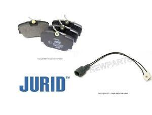 For BMW E30 318i 325iX 325i Front JURID Brake Pad Set w/ Bowa Sensor 250 mm KIT