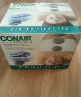 NIB Conair Body Benefits Heated Stone Spa Therapy System Kit Model HR10