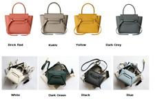 2020 mini Designer Inspired Genuine Leather Belt Knot Large Trapeze Phantom Bag