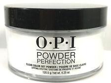 Opi 4.25oz Clear 001 Set Powder Perfection Nail Dip Dipping