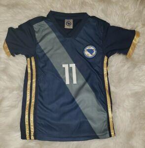 Bosnia Herzegovina Dzeko Youth Jersey #11 Size 128 7/8