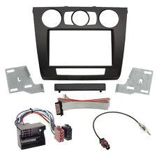 BMW 1er E82 07-13 2-DIN Autoradio Einbauset Adapter Kabel Radioblende