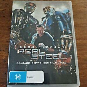 Real Steel DVD Hugh Jackman R4 Like New! – FREE POST
