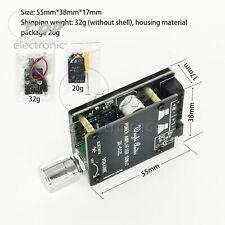 Mini 50WX2 Bluetooth 5.0 digital power amplifier board knob adjust the volume