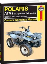 HAYNES SERVICE MANUAL POLARIS MAGNUM 500 4X4 1999-2002 & 500 RMK 2001-2002